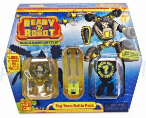 Ready2Robot Battle Pack Mongo