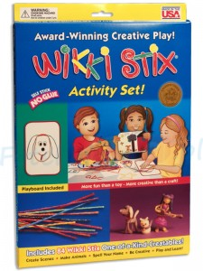Wikki Stix woskowe sznurki Activity Set